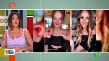 """La increíble transformación de una joven sin dientes al ponerse la dentadura en TikTok: """"¿Pero es la misma?"""""""