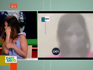 """""""Me he cagado"""": el tremendo susto de Marta Torné en directo al ver la impactante imagen de una niña en primer plano"""