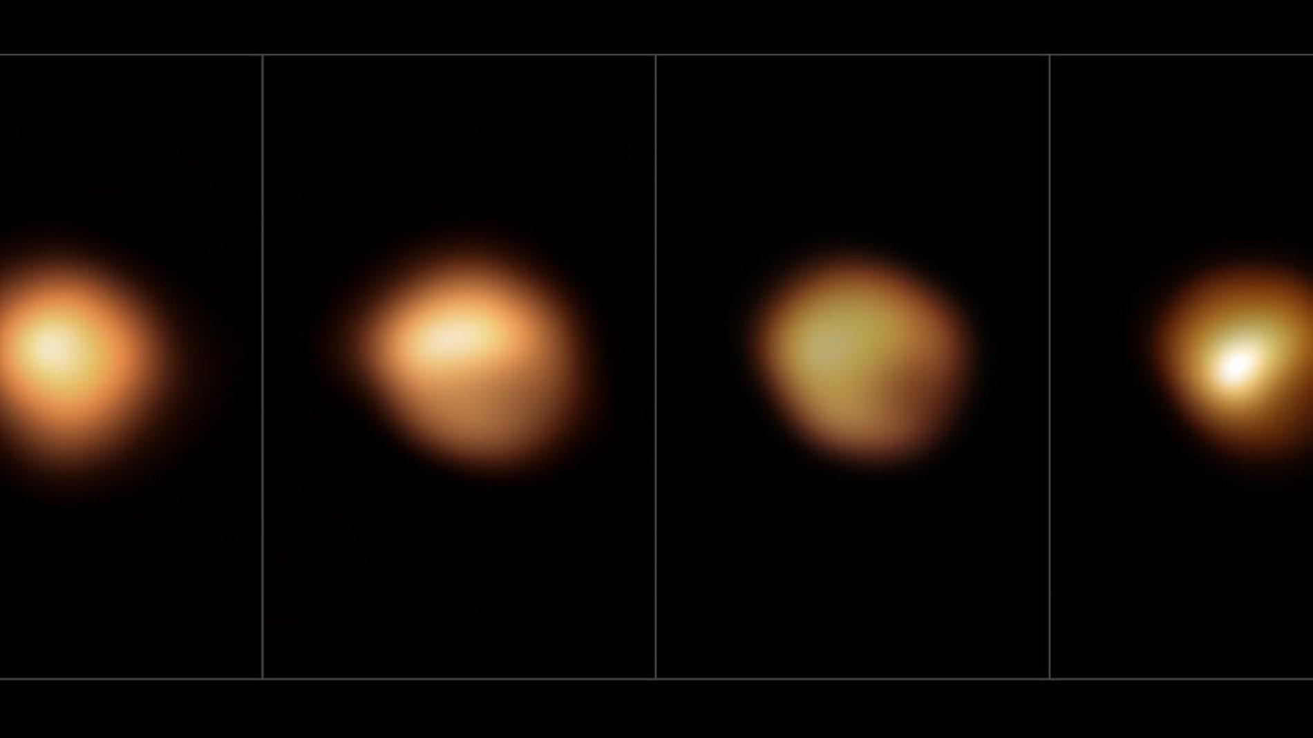 La superficie de Betelgeuse antes y durante su gran atenuación de 2019–2020