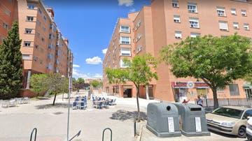 La calle en la que ocurrieron los hechos en el distrito madrileño de Moratalaz