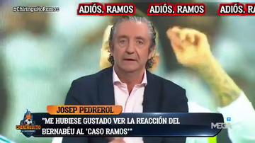 """""""Me duele que Sergio Ramos piense pasado mañana que se ha equivocado, porque creo que se ha equivocado"""""""