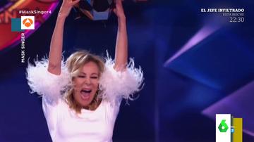 Ana Obregón alucina al jurado de Mask Singer con su espectacular aparición