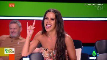 La divertida imitación de Cristina Pedroche a Dabiz Muñoz con la voz de Raúl Pérez