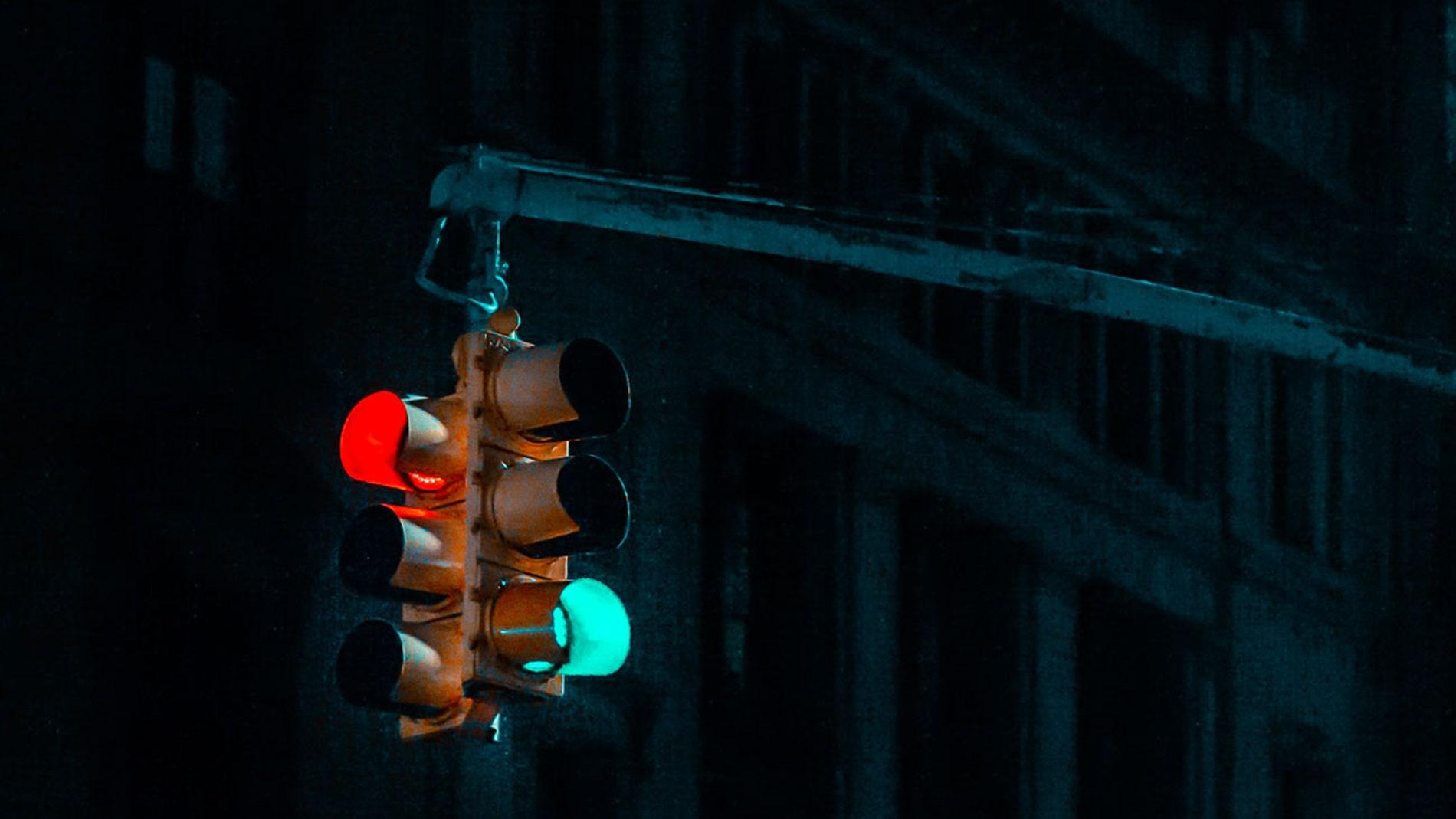 Un semáforo