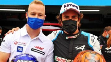 Alonso y Mazepin