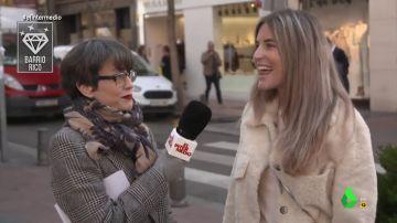 """Una vecina de un barrio rico, en contra de subir el SMI: """"La gente quiere trabajar poco y cobrar mucho"""""""