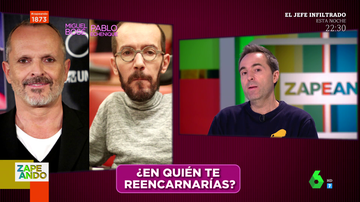 De Andrés Montes a Josie o Echenique: las divertidas imitaciones de Raúl Pérez en pleno directo de Zapeando