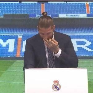 Sergio Ramos se despide entre lágrimas del Real Madrid