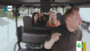 Carpool Karaoke con el elenco de 'Friends'