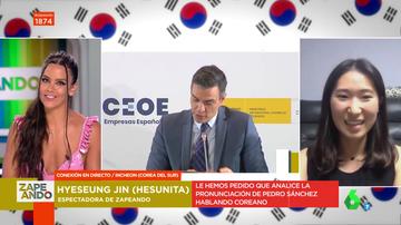"""""""La gente dice que 'qué guapo'"""": esto es lo que opinan los coreanos de Pedro Sánchez tras atreverse a hablar su idioma"""