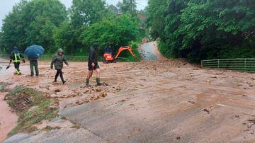 Llanes, tras sufrir unas históricas inundaciones