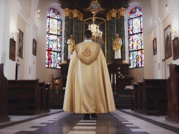 Imagen de archivo de un religioso