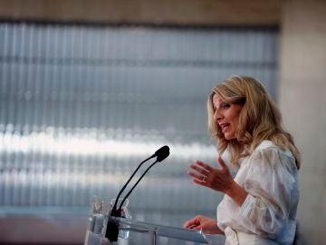 La vicepresidenta tercera y ministra de Trabajo y Economía Social, Yolanda Díaz