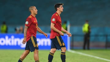 Thiago y Gerard Moreno