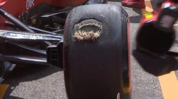 La rueda de Carlos Sainz