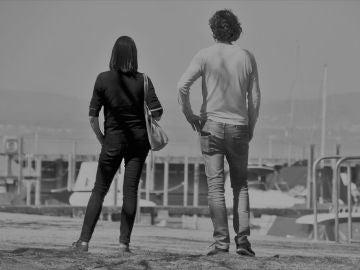 Imagen de archivo de una mujer y un hombre