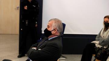 Imagen de Bárcenas ante el juez