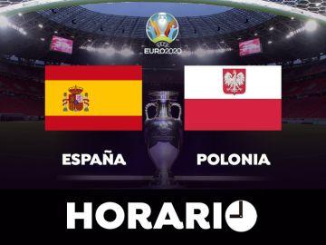España - Polonia: horario, posibles alineaciones y dónde ver la Eurocopa por televisión