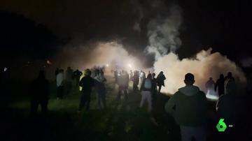 Fiesta ilegal en Francia