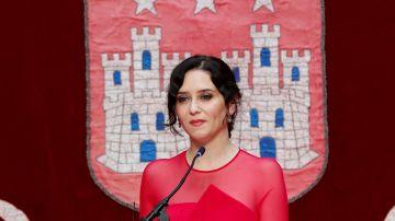 """LaSexta Noticias Fin de Semana (19-06-21) Ayuso toma posesión como presidenta de la Comunidad de Madrid: """"No tenemos miedo a la libertad, solo a perderla"""""""