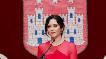 Imagen de Isabel Díaz Ayuso en su toma de posesión