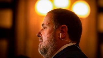 El presidente de ERC, Oriol Junqueras.