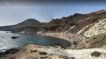 Imagen de la Cala Rajá, en Cabo de Gata