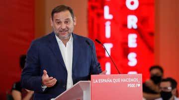El secretario de Organización del PSOE y ministro de Transporte, Movilidad y Agenda Urbana, José Luis Ábalos.