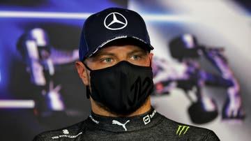 Valtteri Bottas, en la rueda de prensa del GP de Francia