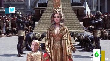 Así es la parodia política de la película Cleopatra que arrasa en redes: desde Ayuso y Almeida a Sánchez y Abascal