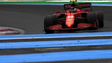 Carlos Sainz en el GP de Francia