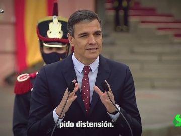"""""""Pido comprensión, pido distensión"""": el temazo que enfrenta a Sánchez y Casado sobre los indultos"""