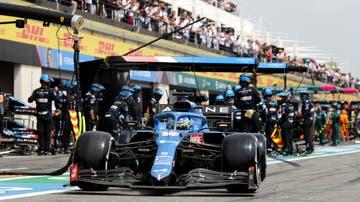 Fernando Alonso en el GP de Francia