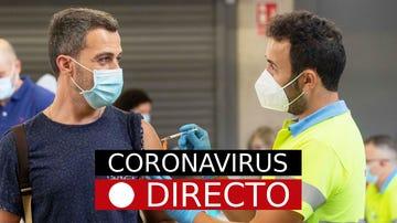 Última hora de la vacunación por coronavirus en España, y segunda dosis de Pfizer o AstraZeneca, hoy