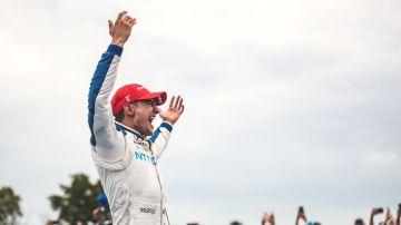 Alex Palou celebra su segundo triunfo en la IndyCar