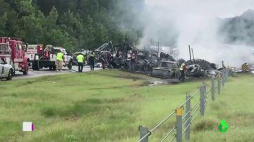 Accidente en Alabama