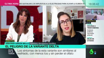 Los consejos de la experta Déborah García Bello sobre cuándo usar la mascarilla tras el 26 de junio