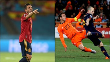 """Koke responde a Van der Vaart: """"Le veo mucho en Las Rozas en una foto con Iniesta al lado"""""""
