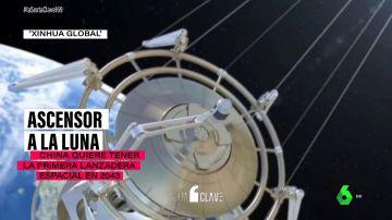 Un ascensor a la Luna: el proyecto de China que podría ser una realidad en 22 años