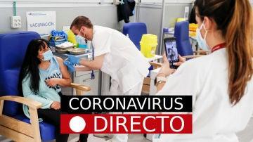 Última hora de coronavirus: uso de mascarilla y vacuna de Covid-19 en España, hoy