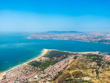 Costa da Caparica. Portugal