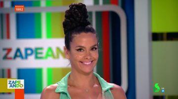 Cristina Pedroche reivindica el Orgullo: así es su espectacular maquillaje con pecas del color de la bandera LGTBI