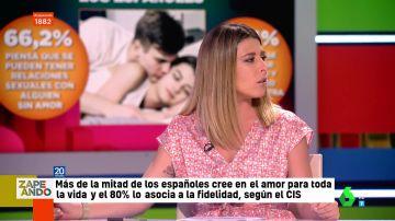 """""""Creo que nunca he estado enamorada"""": Valeria Ros sorprende en directo al plató al hablar de su vida amorosa"""
