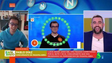 Así fue el momentazo en el que Pablo Díaz dejó alucinado a Dani Mateo cuando le intentó pillar con una pregunta cultural