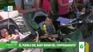 """El """"baby boom"""" que ha traído el confinamiento a un pueblo granadino donde han nacido una veintena de bebés"""