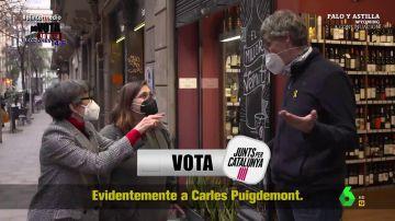 """La respuesta de un hombre en Cataluña cuando Thais Villas le pregunta en la calle: """"Lo haré en catalán"""""""
