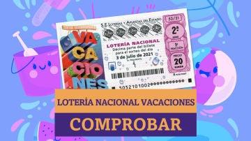 Sorteo Extraordinario Lotería Nacional de Vacaciones | Comprobar resultados de hoy, sábado 3 de julio de 2021