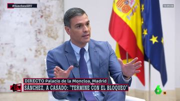 """Pedro Sánchez: """"La propiedad intelectual de los discursos de Casado y Ayuso es de Aznar"""""""