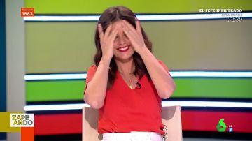 El divertido pique de Lorena Castell en directo con Marta Torné al olvidarse de que es madre primeriza