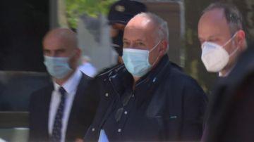 José Luis Moreno sale en libertad tras declarar ante el juez